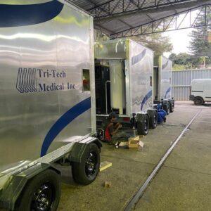 Medical Oxygen Gas Plant on Wheels