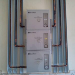 Zone Service Unit Piping Network